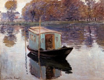 Impressionismo_Reflexo na agua